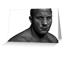 Fedor Emelianenko Greeting Card