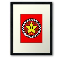 Star Cup Framed Print
