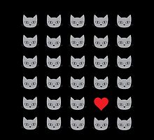 Love cats by TinkM