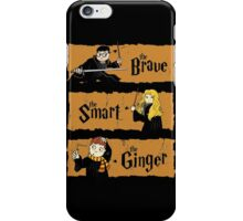 The Brave, the Smart, the Ginger iPhone Case/Skin
