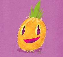 Mr. Pineapple Says Hello by nate-bear