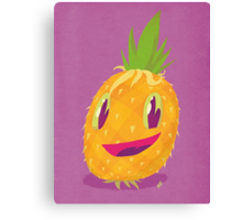 Mr. Pineapple Says Hello Canvas Print
