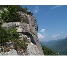 Chimney Rock State Park View Photographic Print