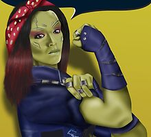 Gamora - We Can Do It by Alex Clark