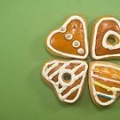Heart shaped gingerbread cookies by timscottrom