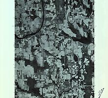 Maine USGS Historical Map Mars Hill NW 806884 1975 24000 by wetdryvac