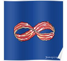 The Shirt of Infinite Bacon Poster