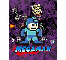 Megaman power up Photographic Print