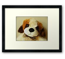 You Love Me? Framed Print