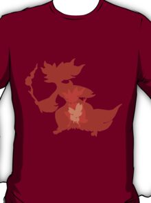 Pokémon Fennekin Braixen Delphox Shapes T-Shirt