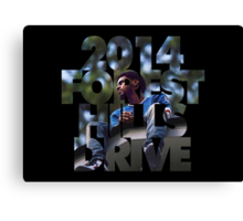 J Cole 2014 Forest Hills Drive Canvas Print