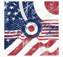 Grunge Mod Target Roundel America Kids Clothes