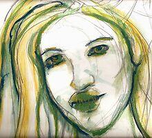Green Girl- Stage One by AshleyMcCoy