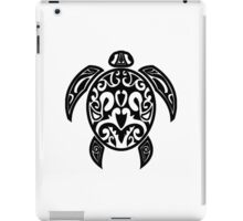 Sea Turtle Tribal Tattoo iPad Case/Skin