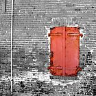 Red Door by Chris Filer