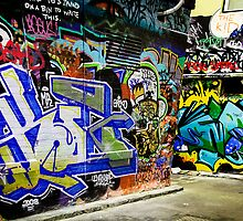 Melbourne Graffiti Artists by Rosina  Lamberti
