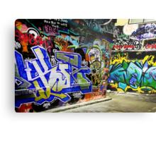 Melbourne Graffiti Artists Metal Print