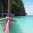 Thailand Longboat by Chris Filer