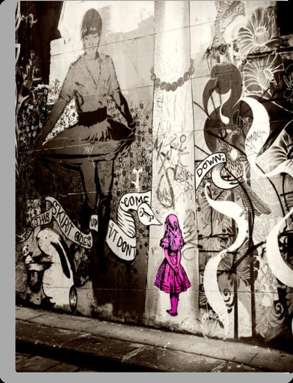 Melbourne graffiti by Rosina  Lamberti