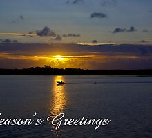 Strahan Harbour, Season's Greetings by Steven Weeks