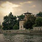 Chateau au Lac Como by Jackco  Ching