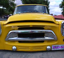 Yellow Truck by Maryanne Lawrence