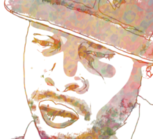 J Dilla Marble Effect Sticker