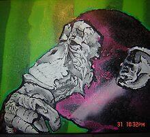 8x10 Beautiful thinking by JeRMsDetail