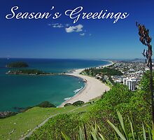 Mount Maunganui, Season's Greetings by Steven Weeks