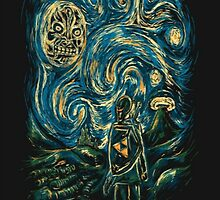 The Starry Night - The Legend of Zelda Crossover by Fapthesystem