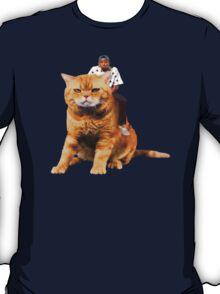 Tyler, the Creator riding cat T-Shirt