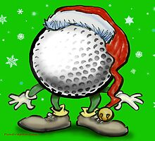 Merry Golfmas by Kevin Middleton