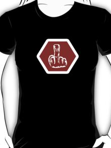 Middle Finger Sign T-Shirt