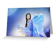 Golden Future Angel Greeting Card