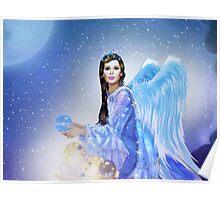 Golden Future Angel Poster