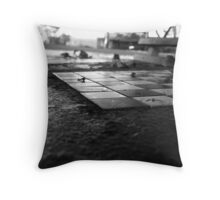 Chess Set 2 Throw Pillow