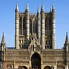 Lincoln Cathedral by Mark Baldwyn