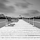 Pooley Bridge Pier by AJ Airey