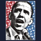 PRESIDENT BARACK OBAMA-POP by OTIS PORRITT