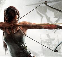 Tomb Raider - Lara Croft, hunting by ghoststorm