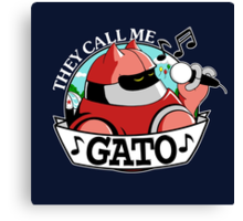 They Call Me Gato Canvas Print