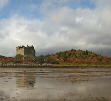 Castle Tioram in Autumn. by John Cameron