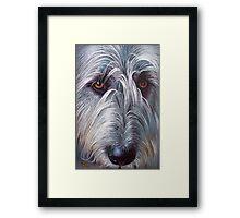 Irish Wolfhound Framed Print