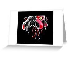 Five Nights at Freddy's 2 - Pixel art - Mangle (Ceiling) Greeting Card