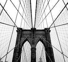 Brooklyn Bridge by David Hannan Photography