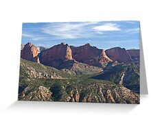 Kolob Fingers (Front View) Greeting Card