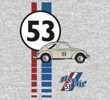 Herbie 53 VW bug beetle Kids Clothes
