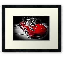 Ferrari F430 Spider Framed Print