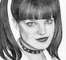 Pauley Perrette by Karen Townsend