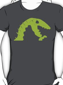 Dino Roar in Green T-Shirt